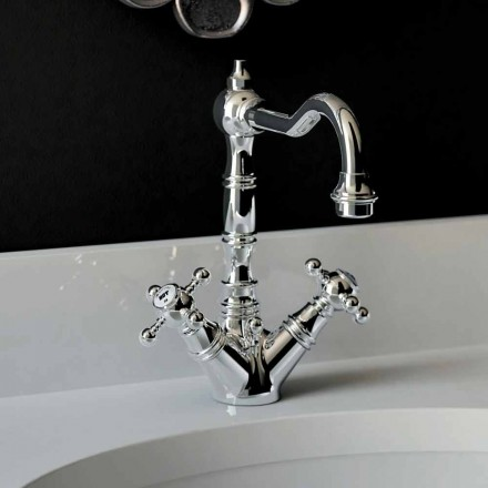 1-huls håndvaskarmatur i forkromet messing Fremstillet i Italien - Binsu