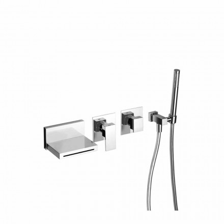 Made in Italy Design indbygget badekararmatur - Panela