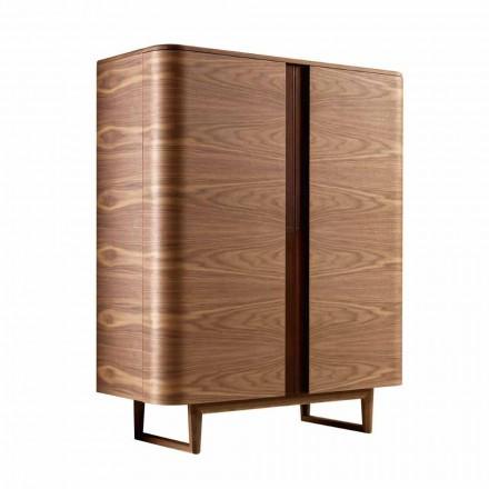 Designskabe i 2A Grilli massivt træ York lavet i Italien