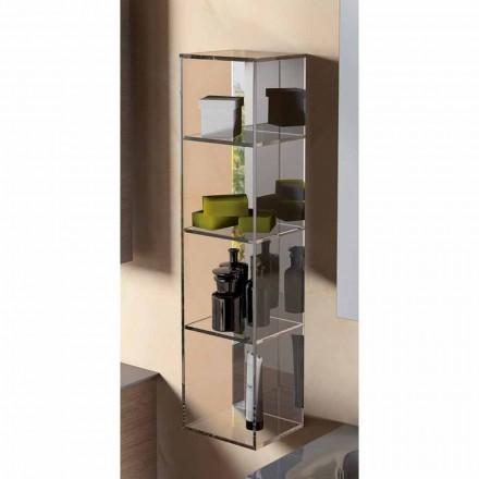 Skab med 3 rum moderne design, L180xH900 mm, Adelia
