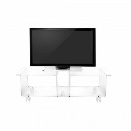 TV kabinet moderne design plexiglas Wizard Double
