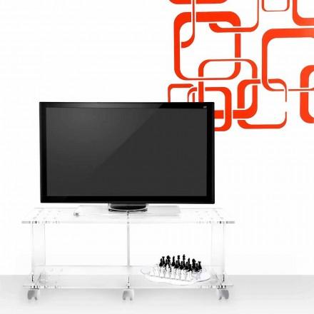 TV kabinet moderne design plexiglas Magician