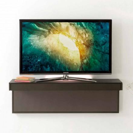 Hængt tv-stativ med satin krystal top fremstillet i Italien - Americio