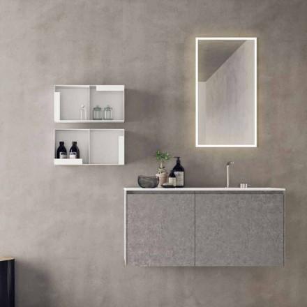 Hængende designmøbler, moderne badeværelseskomposition - Callisi9