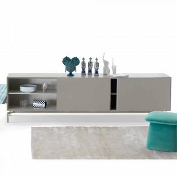 My Home Mirage design skænk i lakeret MDF H71xL210cm lavet i Italien