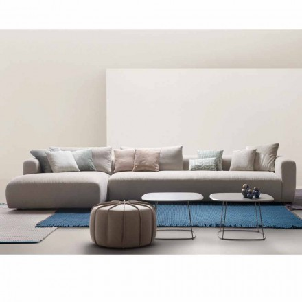 Mit Home Soft sectional design sofa lavet i Italien stof