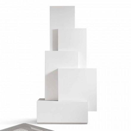 Mit hjem Tetris mobil stue tårn design MDF H196cm lavet i Italien