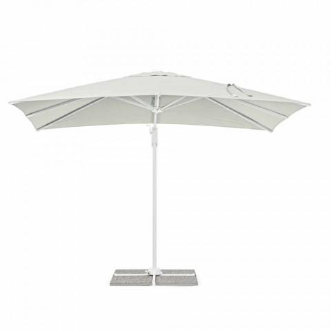 2x3 udendørs paraply i polyester med aluminiumsstruktur - Fasma