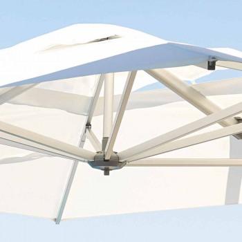Vandafvisende udendørs paraply med 3x4 granitbase - Zeus af Talenti