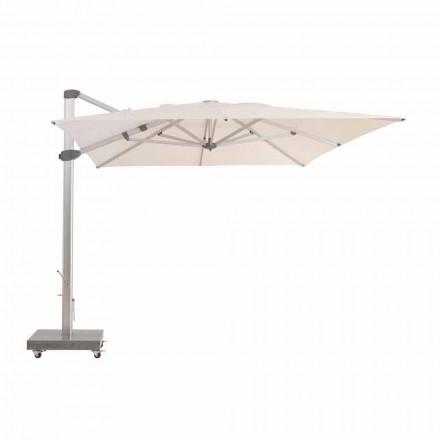 3x4 vandafvisende udendørs paraply med aluminiumsstang - Zeus af Talenti