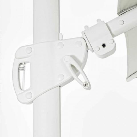 3x4 aluminiumsparaply med polyesterstof - Fasma
