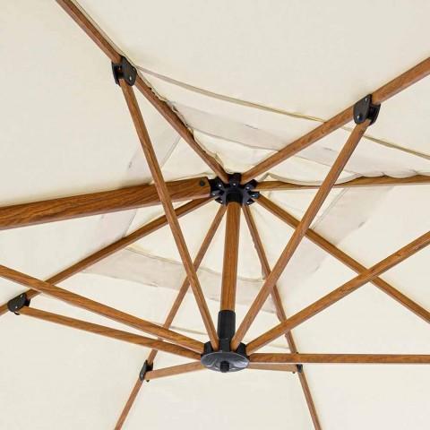 3x4m Haveparaply i Aluminium og Polyester, Homemotion - Marco