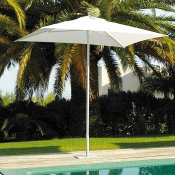 Moderne haveparaply i stof og stål 2x2 m - Apollo af Talenti