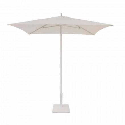 2x2 m Haveparaply i stof og moderne aluminium - Apollo af Talenti