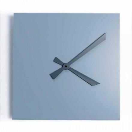 Industrielt og moderne firkantet vægur af italiensk design - Titan