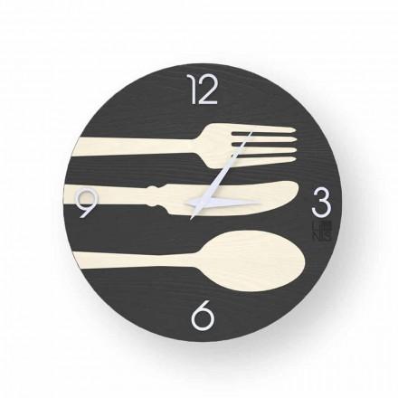 Clivio moderne design væg ur lavet i Italien