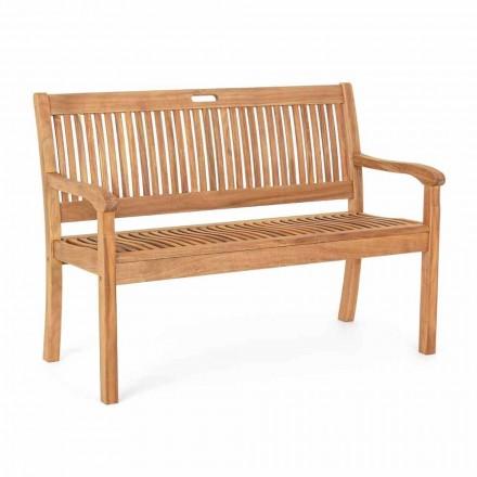 Havebænk i Acacia træ til udendørs 2 eller 3 sæders design - Roxen