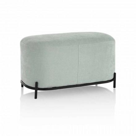 Bænk til stue eller soveværelse i moderne designstof - Ambrogia