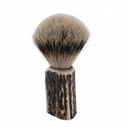 Håndlavet Badger Hair Barberbørste Lavet i Italien - Euforia
