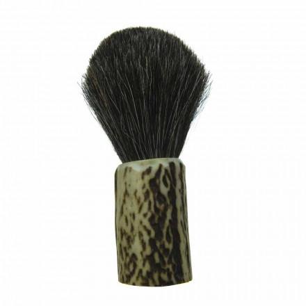 Håndlavet barberbørste med Made in Italy Hestehårbørster - Euforia