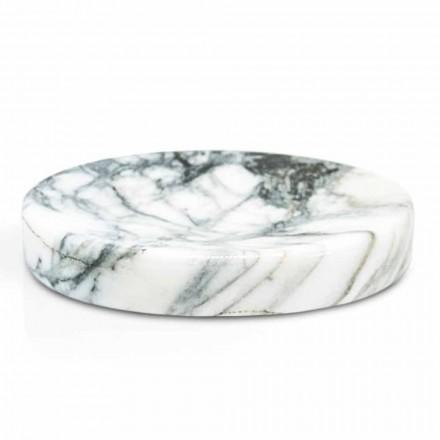 Sæbebad til badeværelse i Paonazzo-marmor Modern fremstillet i Italien - Argos
