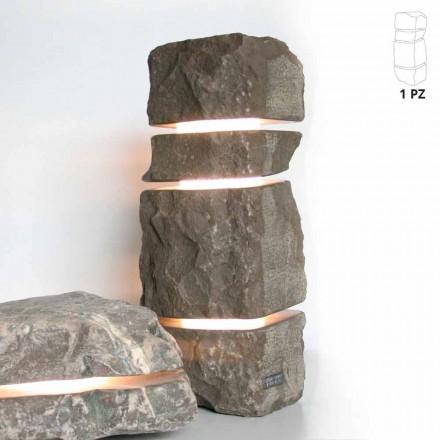 Stone Marmor Fior di Pesco Carnico lyse med 3 snit Stonehenge