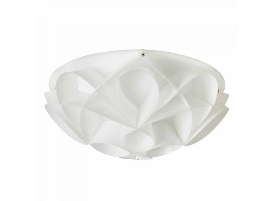 2 loftslamper farve perle hvid moderne design, diam.43cm, Lena