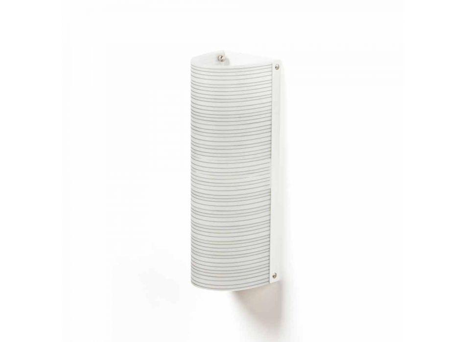2 loft lys med moderne design dekoration ledninger, L.18xP.16cm, Debby
