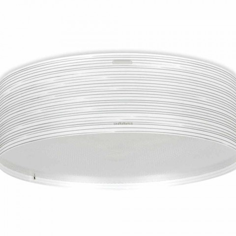 3 loft lys moderne design polypropylen Debby, 60 cm i diameter
