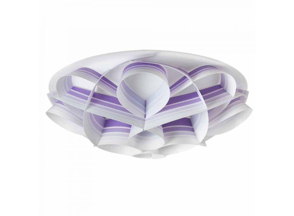 4 loftslamper i moderne design lavet i Italien, diam. 70 cm, Lena
