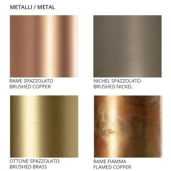 Artisan Loftslampe i Keramik og Metal Fremstillet i Italien - Toscot Match