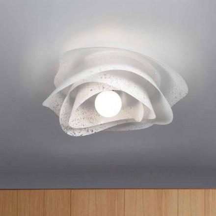 loft hvid moderne design 55 cm i diameter Antalya, lavet i Italien