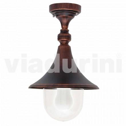 Have loftslampe i støbt aluminium, fremstillet i Italien, Anusca