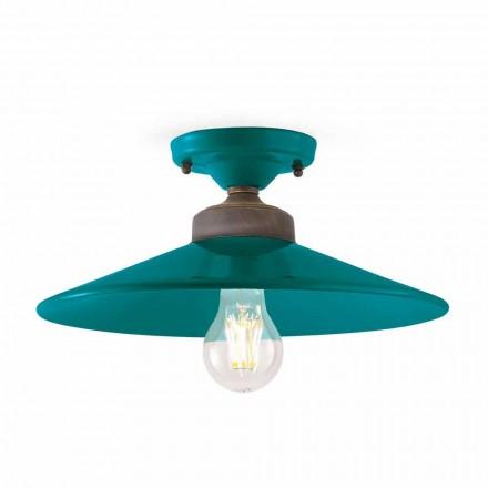 Loft lampe Design loft keramik og messing Cecilia