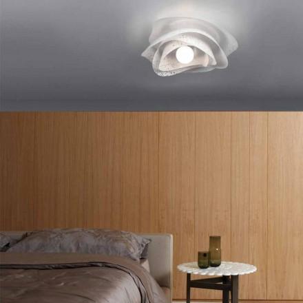 Moderne loftslampe med skyggen af hvid krone diam. 40 cm, Antalya