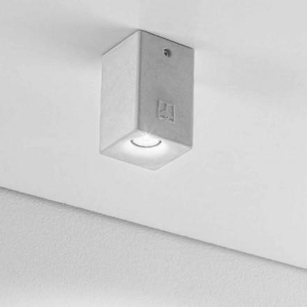 firkantet loft lampe til udendørs Led Nadir 2 Aldo Bernardi
