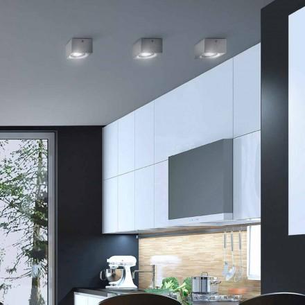 moderne firkantede loft gips eller beton design Nadir