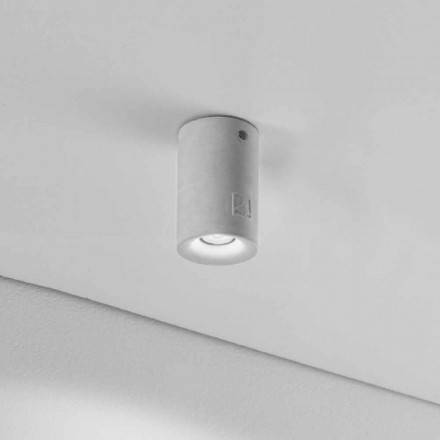 Rund loft for ekstern LED Nadir 9 gips eller beton