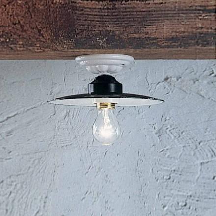 Rustik loft Round loftslampe Ferroluce keramiske Power