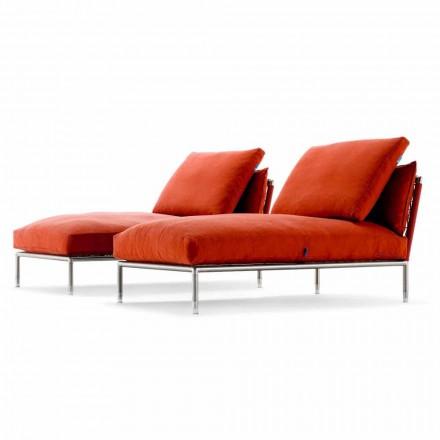 Moderne design chaiselonglænestol til have fremstillet i Italien - Ontario1
