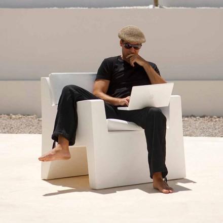 Moderne haven lænestol lavet med polyethylen harpiks, Jut af Vondom