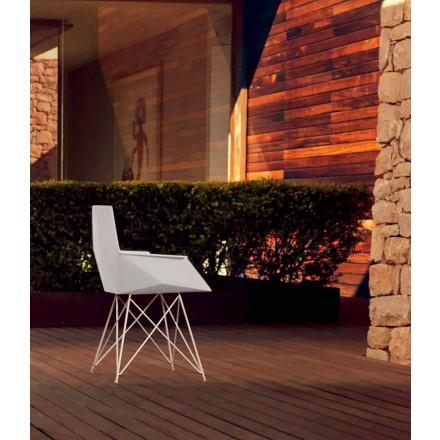 Moder haven lænestol Faz samling af Vondom, designer Ramòn Esteve