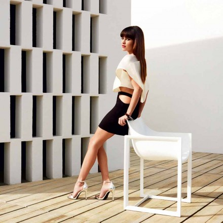 Have lænestol, polypropylen med glasfiber Wallstreet af Vondom