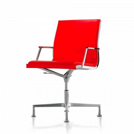 Lænestol Executive læder eller stof kontor Nulite Luxy