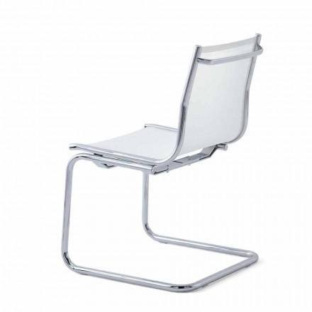 Office lænestol uden armlæn, moderne design Light Luxy