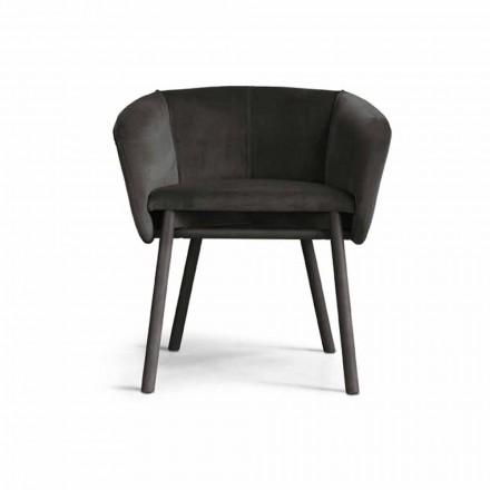 Højkvalitets lænestol med bøgefod lavet i Italien - Bergen