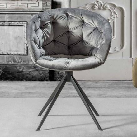 Lænestol med moderne design med Capitonnè - Enea