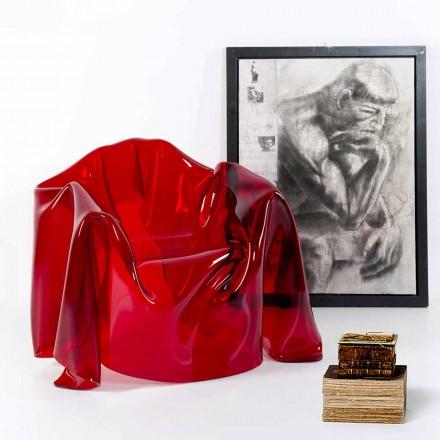 Viadurini Living Lænestol Moderne og Lænestol Læder Made