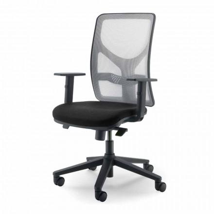 Executive høj-back office lænestol lavet i Italien Amelie