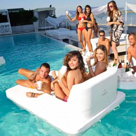 flydende pool stol i dobbelt-session Trona Magnum